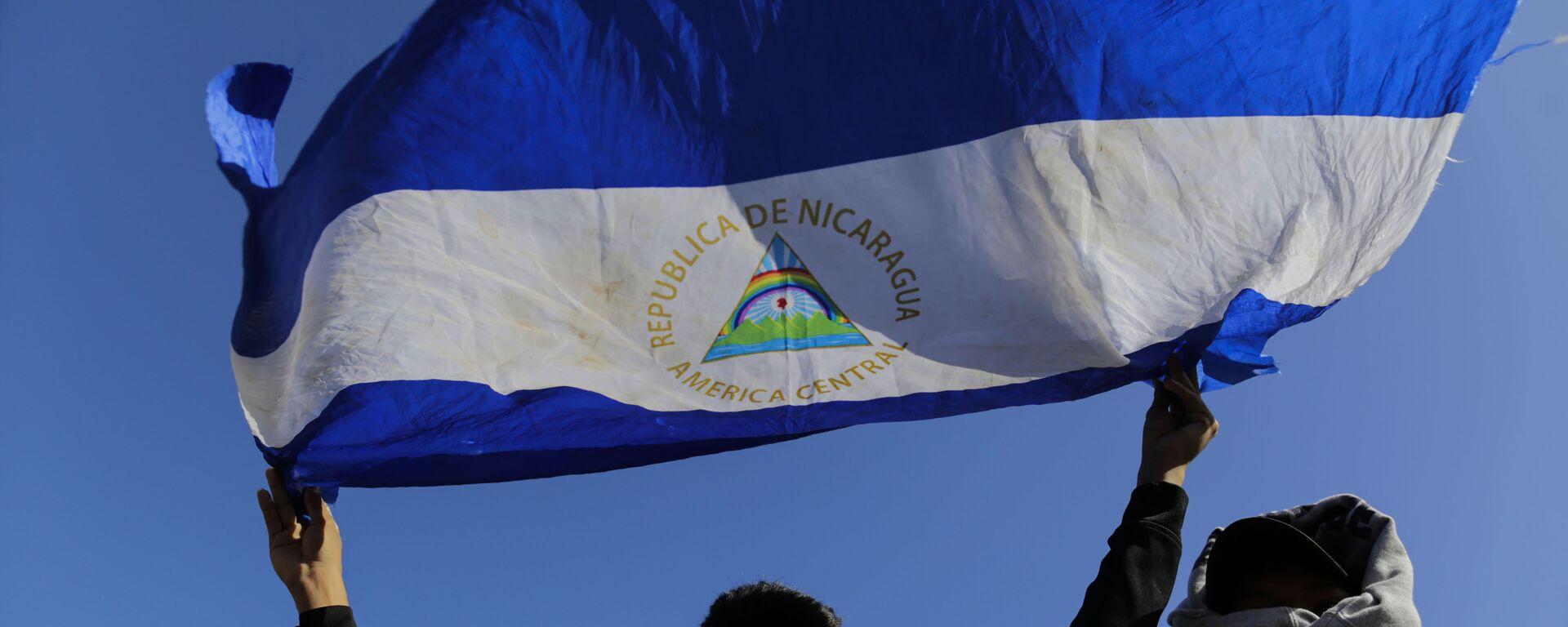 Bandera de Nicaragua - Sputnik Mundo, 1920, 20.09.2021
