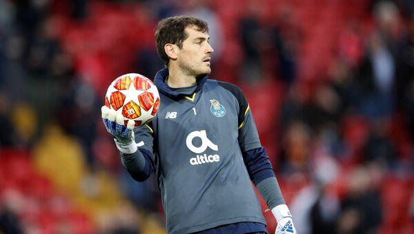 Iker Casillas, el futbolista - Sputnik Mundo