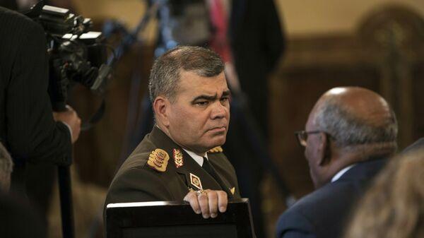 Vladimir Padrino López, ministro de Defensa de Venezuela (archivo) - Sputnik Mundo