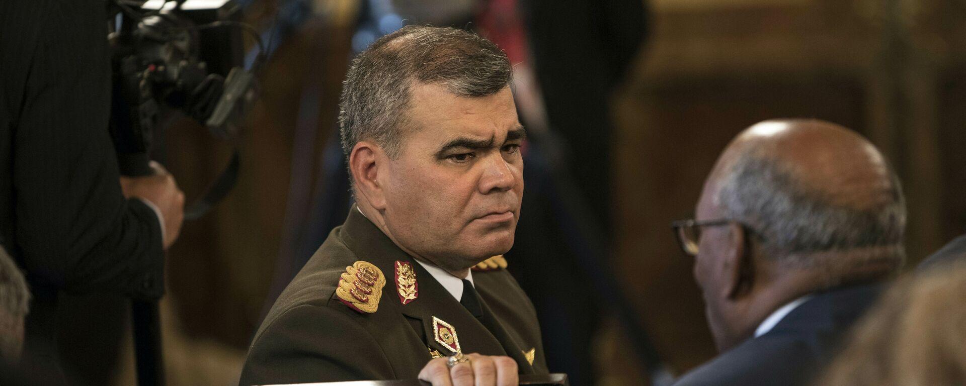 Vladimir Padrino López, ministro de Defensa de Venezuela (archivo) - Sputnik Mundo, 1920, 18.02.2021