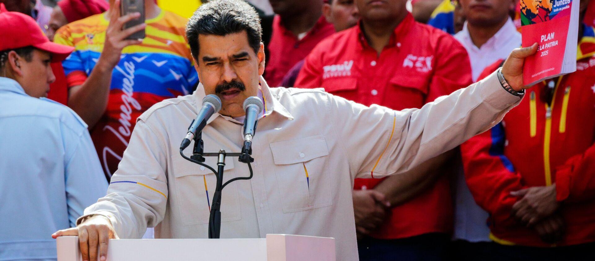 Nicolás Maduro, presidente de Venezuela - Sputnik Mundo, 1920, 29.05.2019