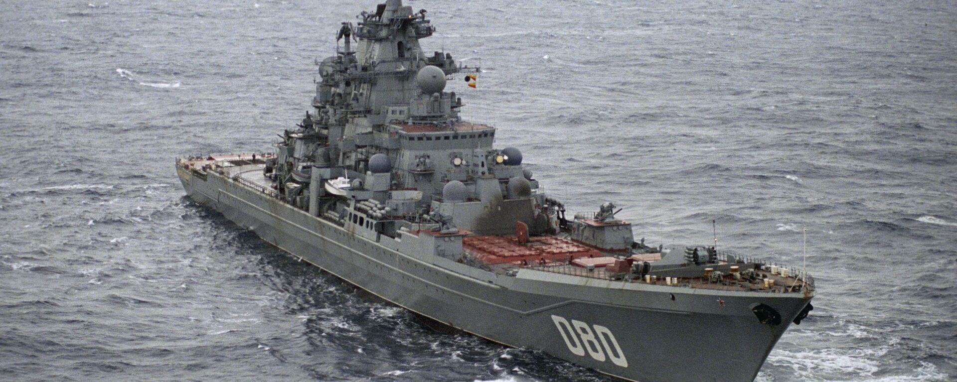 Crucero nuclear ruso Almirante Najimov (archivo) - Sputnik Mundo, 1920, 22.09.2021