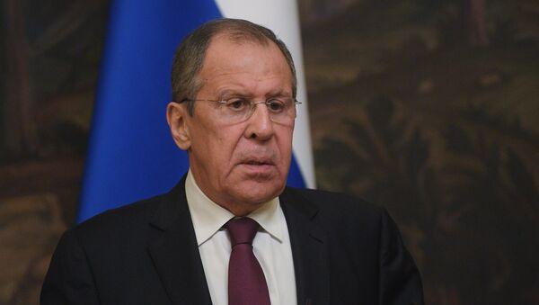 Serguéi Lavrov, cancíller ruso - Sputnik Mundo