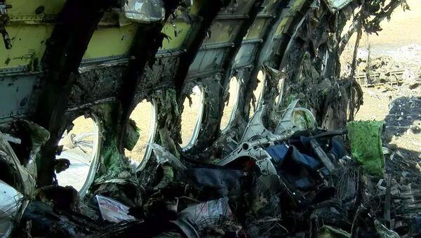 Interior del SuperJet 100 estrellado en Moscú - Sputnik Mundo