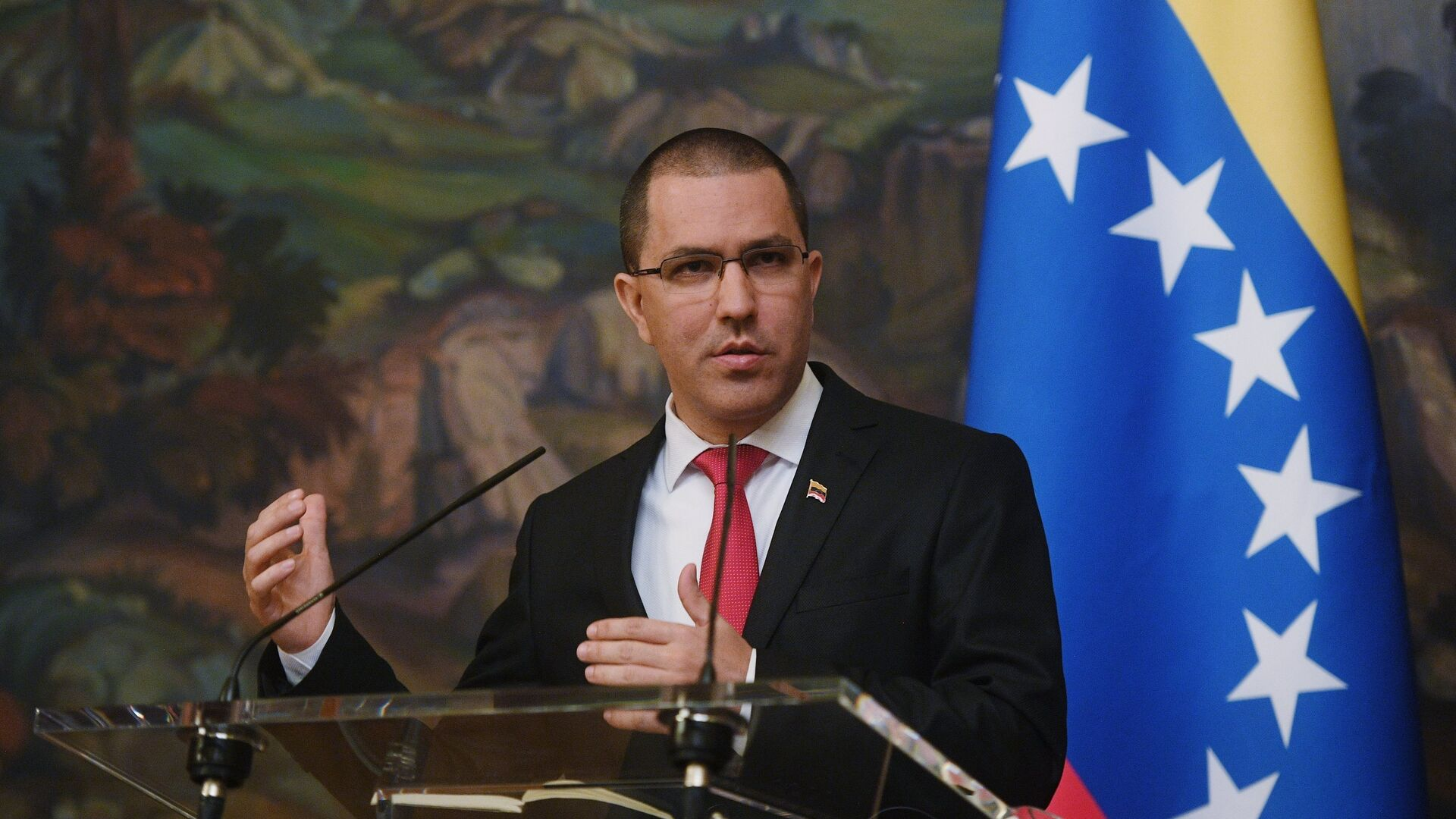 Jorge Arreaza, canciller de Venezuela - Sputnik Mundo, 1920, 09.08.2021