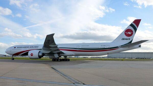 Un avión de Biman Bangladesh Airlines (imagen referencial) - Sputnik Mundo