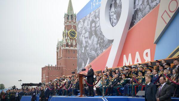 El presidente Vladímir Putin da las gracias a todos los veteranos por el Día de la Victoria - Sputnik Mundo