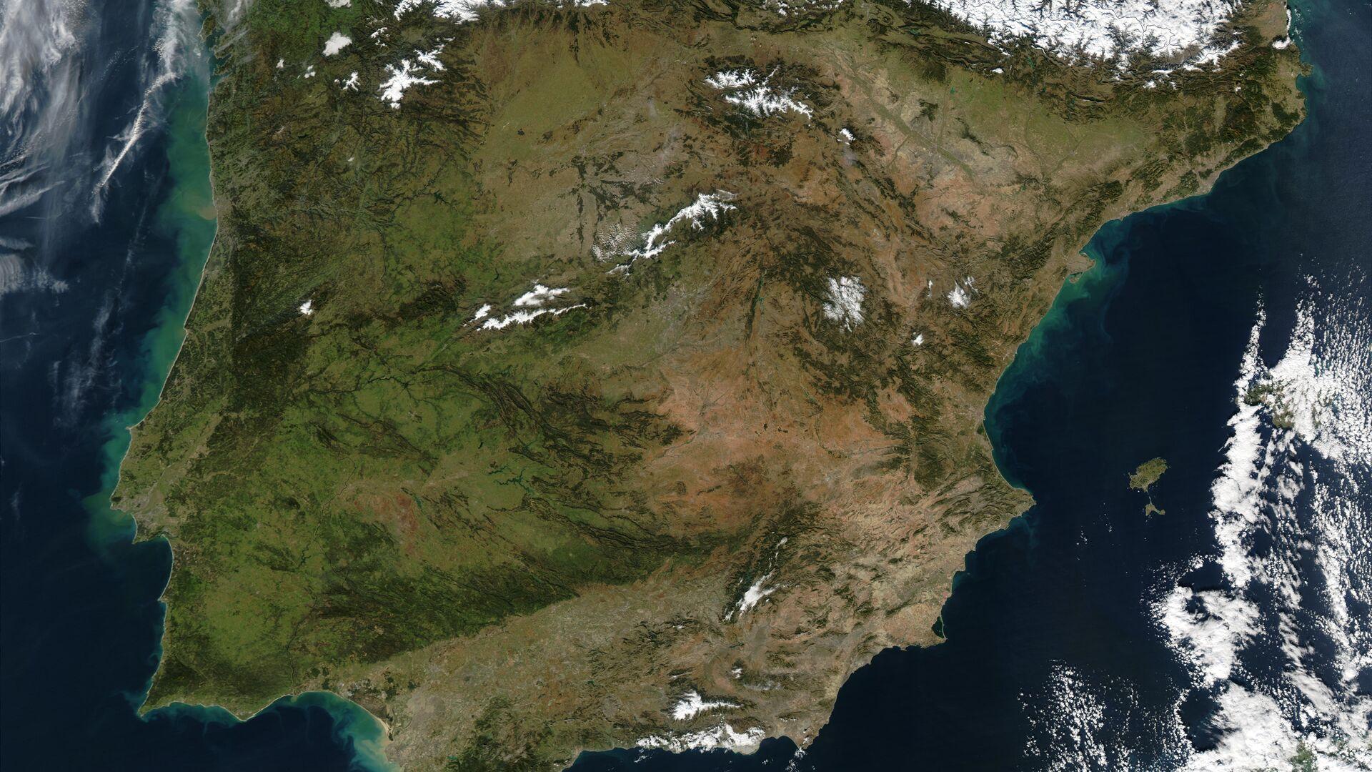 La península ibérica - Sputnik Mundo, 1920, 12.10.2021