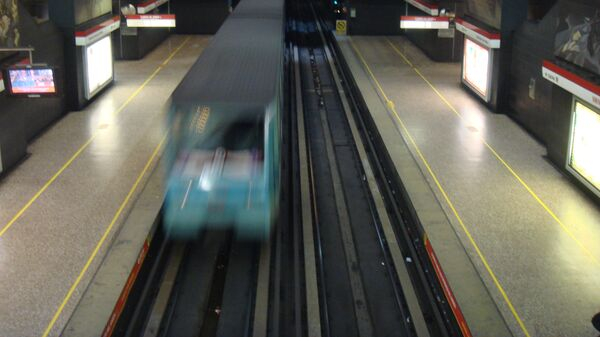 El metro de Santiago de Chile - Sputnik Mundo