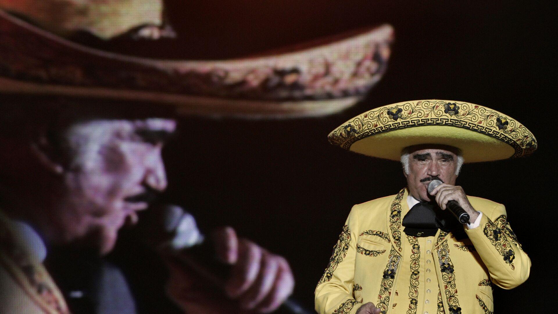Cantante mexicano Vicente Fernández - Sputnik Mundo, 1920, 08.10.2021