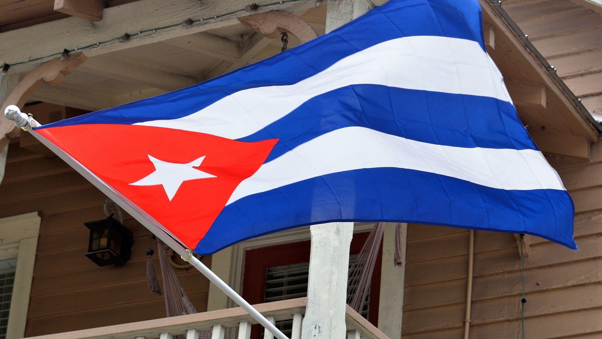La bandera de Cuba - Sputnik Mundo, 1920, 17.03.2021