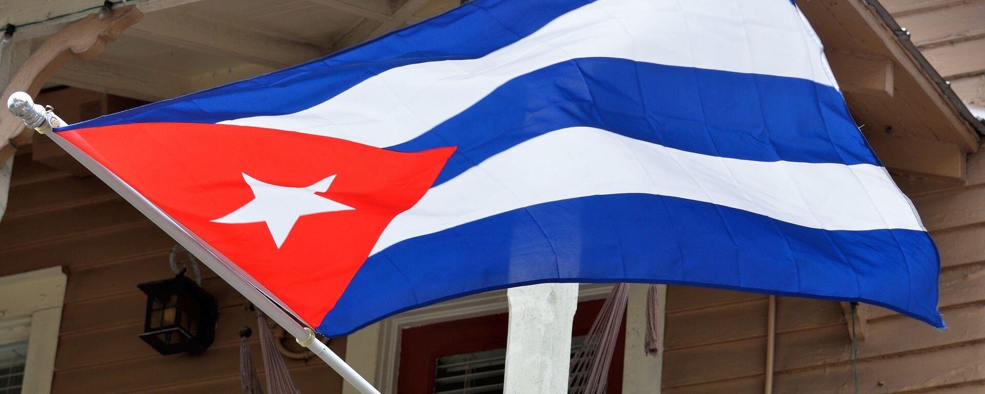 La bandera de Cuba - Sputnik Mundo, 1920, 12.01.2021