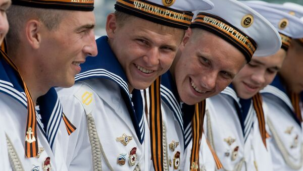 La vida cotidiana de los marineros de la Flota del Mar Negro - Sputnik Mundo