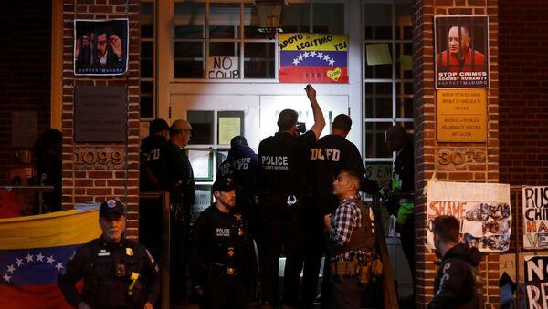 Embajada venezolana en Washington - Sputnik Mundo