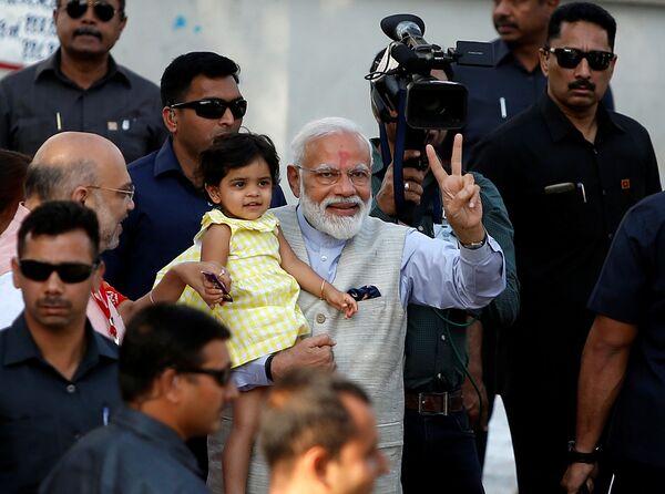 La India: así se viven las elecciones más caras y con más votantes de la historia - Sputnik Mundo