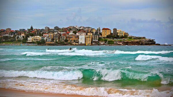 La playa de Bondi en Australia - Sputnik Mundo