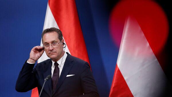 Heinz-Christian Strache, vicecanciller de Austria - Sputnik Mundo