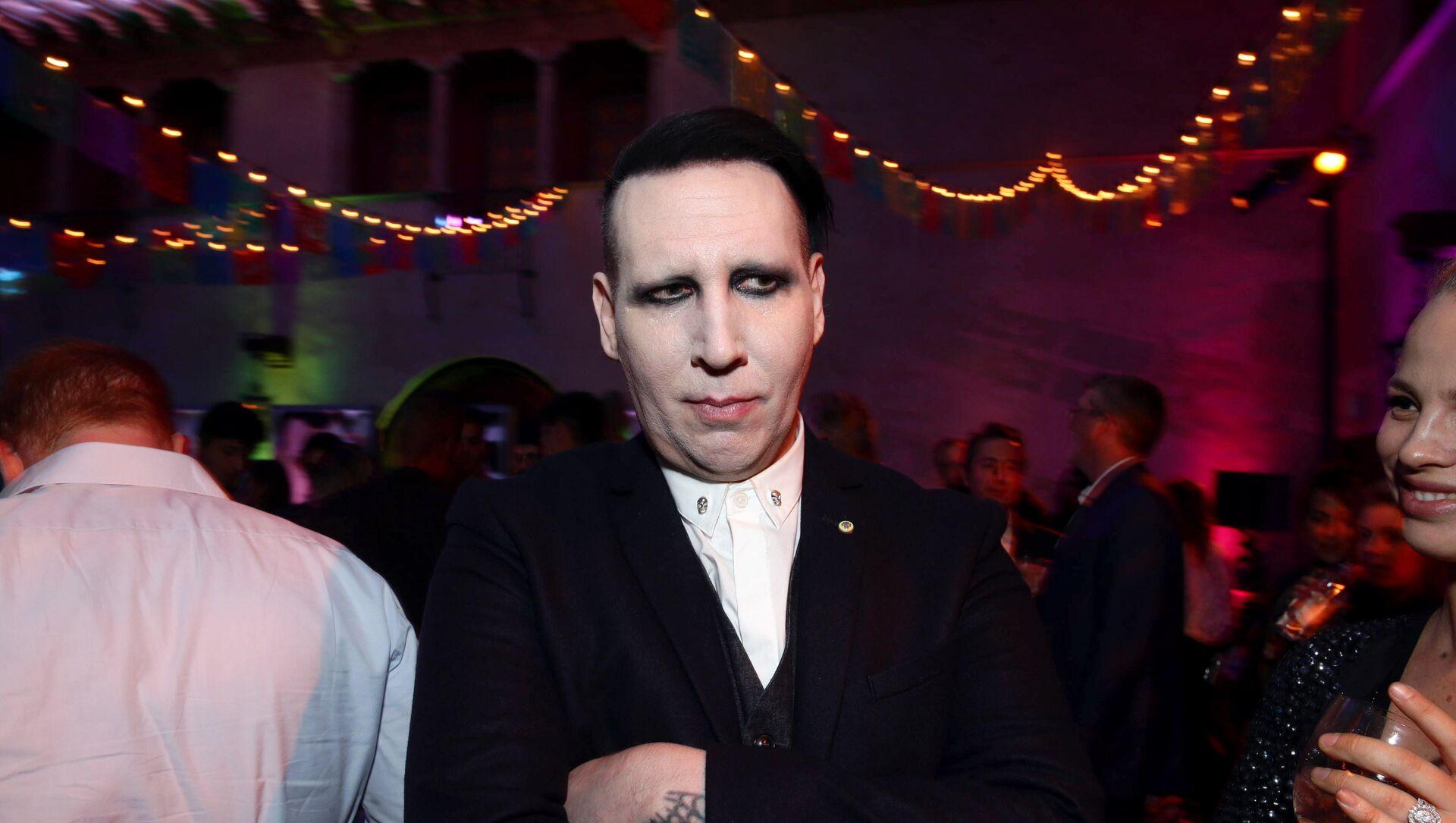 Marilyn Manson, cantante estadounidense - Sputnik Mundo, 1920, 02.02.2021