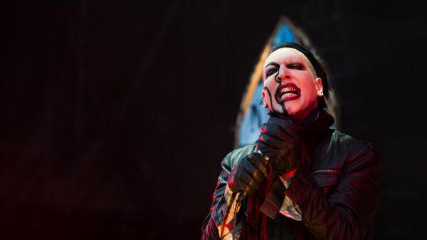Marilyn Manson, cantante estadounidense - Sputnik Mundo
