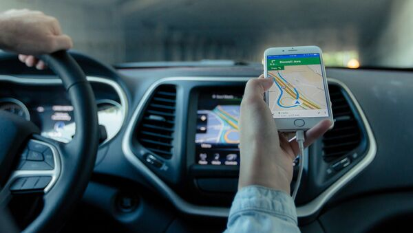 Un navegador GPS - Sputnik Mundo