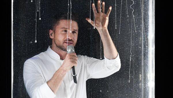 La actuación de Serguéi Lázarev en el concurso Eurovisión - Sputnik Mundo