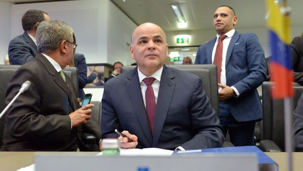 El ministro de Petróleo de Venezuela, Manuel Quevedo - Sputnik Mundo
