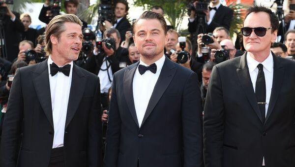 El festival de Cannes, Brad Pitt, Leonardo Di Caprio, Quentin Tarantino - Sputnik Mundo