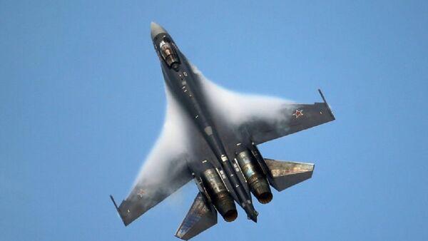 Caza Su-35 (archivo) - Sputnik Mundo