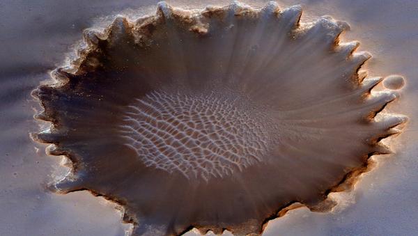 El cráter Victoria de Marte - Sputnik Mundo
