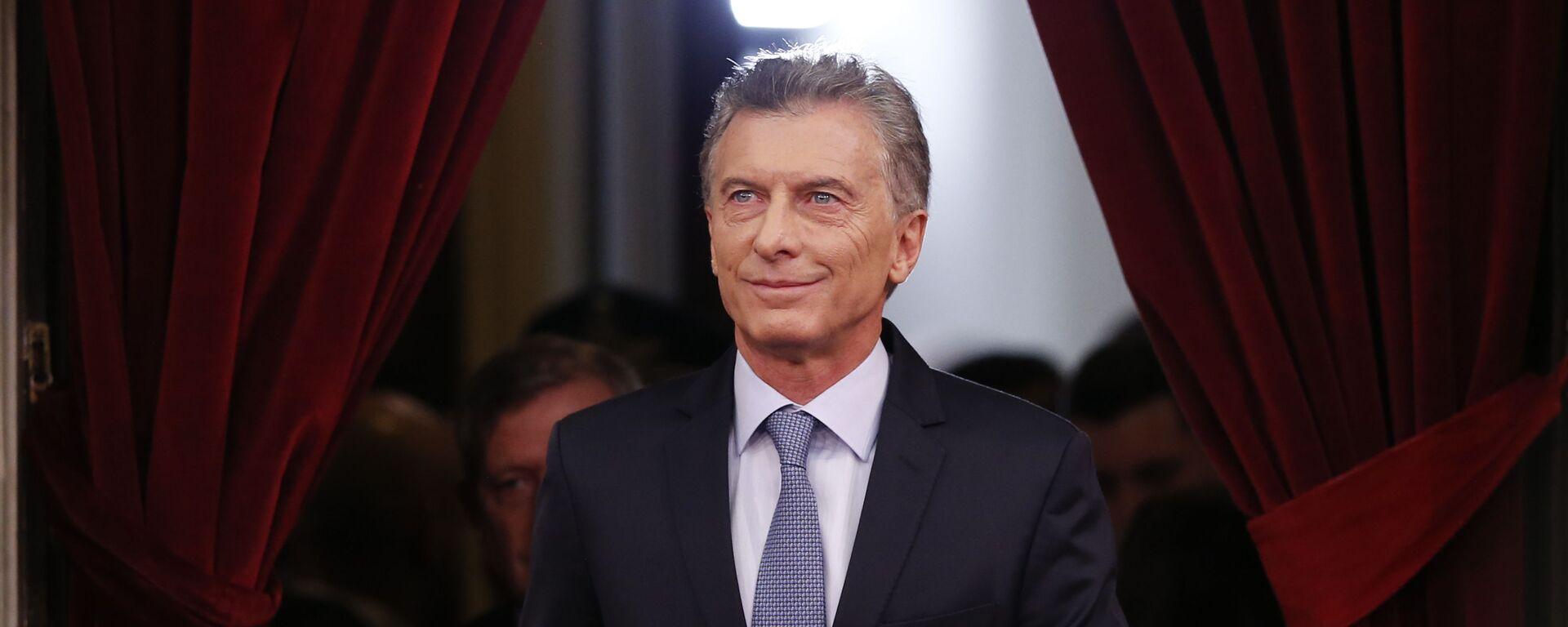 Mauricio Macri, expresidente de Argentina - Sputnik Mundo, 1920, 16.07.2021