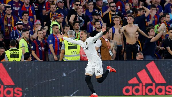 Final de la Copa del Rey entre Valencia CF y FC Barcelona, 25 de mayo de 2019 - Sputnik Mundo