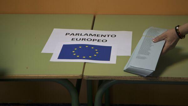 Las elecciones al Parlamento Europeo - Sputnik Mundo