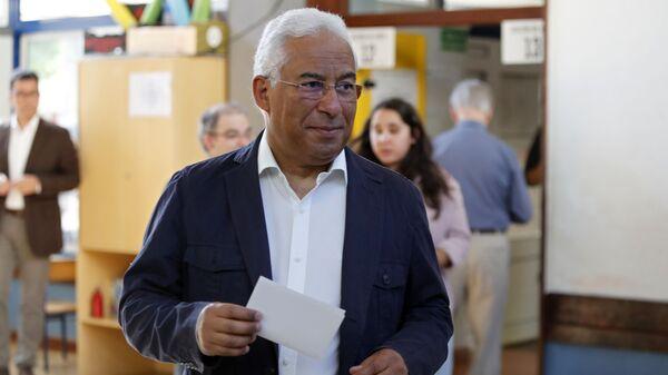 António Costa,  primer ministro de Portugal en las elecciones europeas - Sputnik Mundo