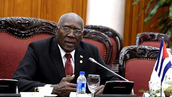 Salvador Valdés Mesa, primer vicepresidente de Cuba - Sputnik Mundo