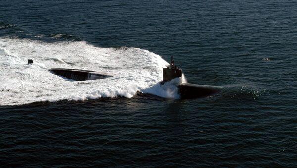 Un submarino de la clase Los Angeles - Sputnik Mundo