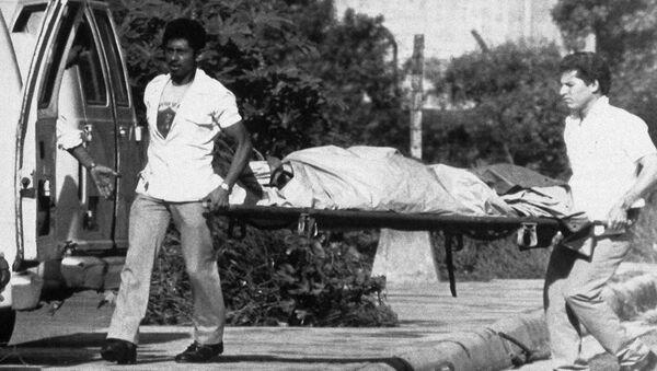 Guerra civil en El Salvador (archivo) - Sputnik Mundo