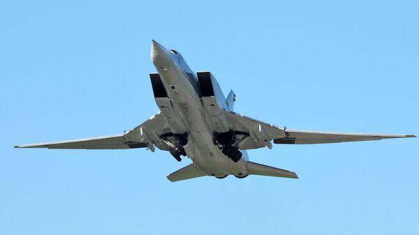 Un bombardero Tu-22M3 (archivo) - Sputnik Mundo