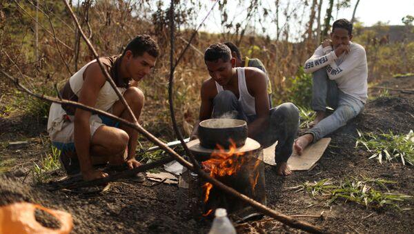 Migrantes venezolanos - Sputnik Mundo