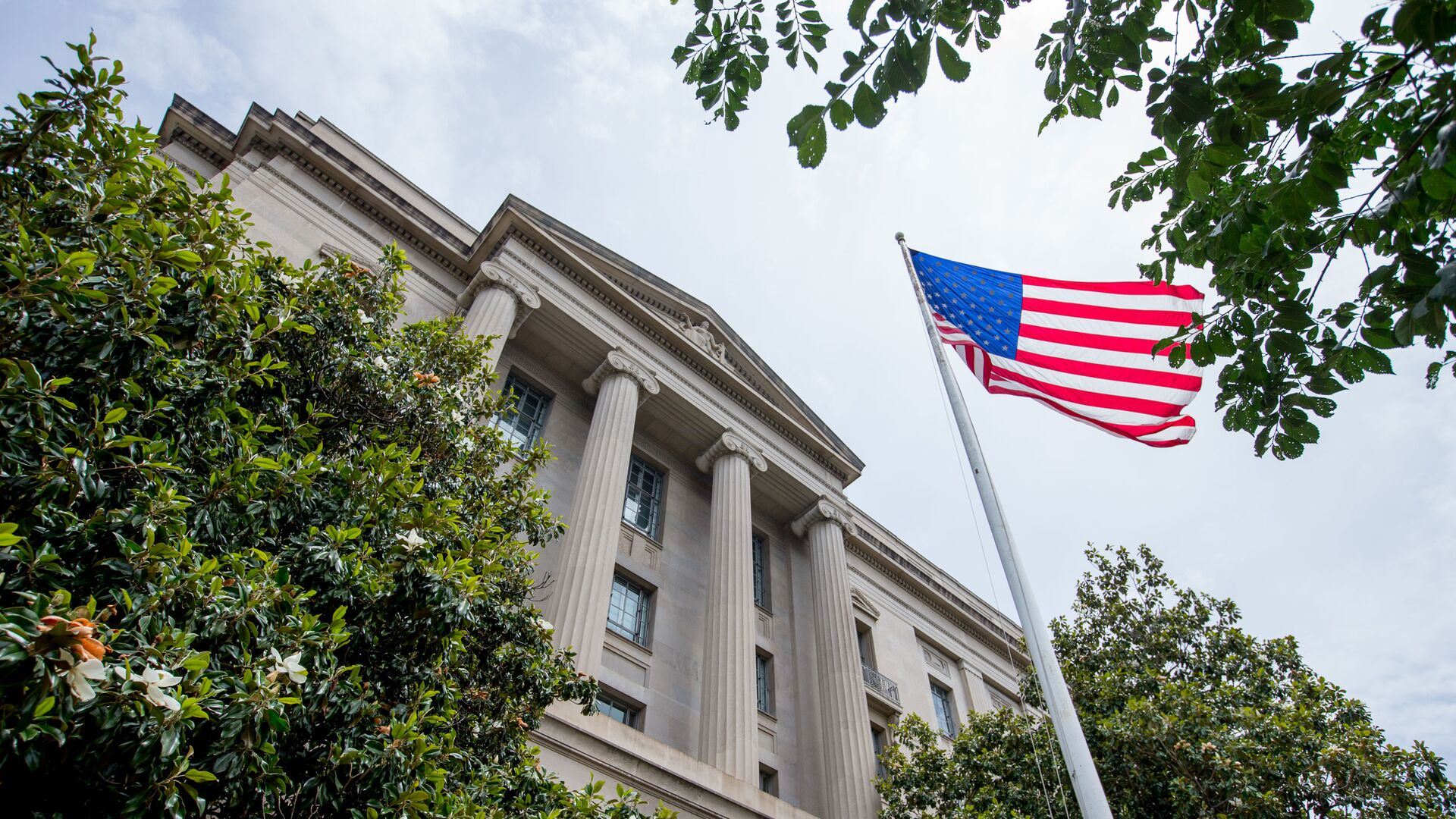 El edificio del Departamento de Justicia de EEUU - Sputnik Mundo, 1920, 12.10.2021
