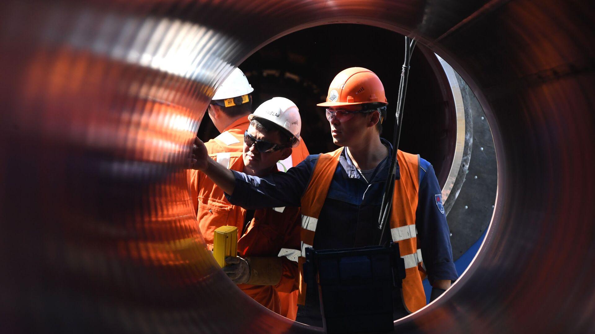Construcción del gasoducto Nord Stream 2 - Sputnik Mundo, 1920, 17.02.2021