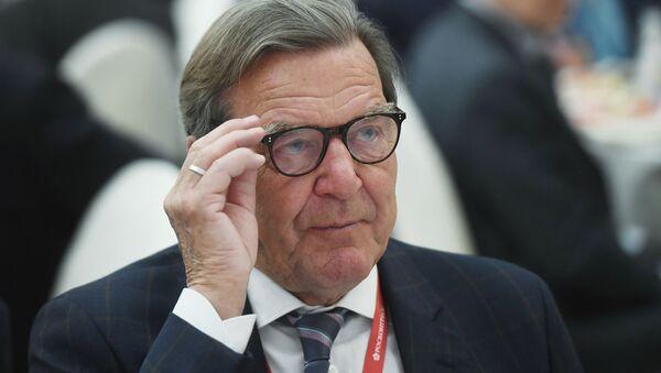 Gerhard Schröder, excanciller alemán - Sputnik Mundo