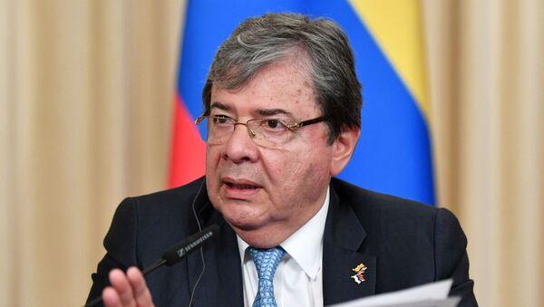 El ministro de Relaciones Exteriores de Colombia, Carlos Holmes Trujillo - Sputnik Mundo