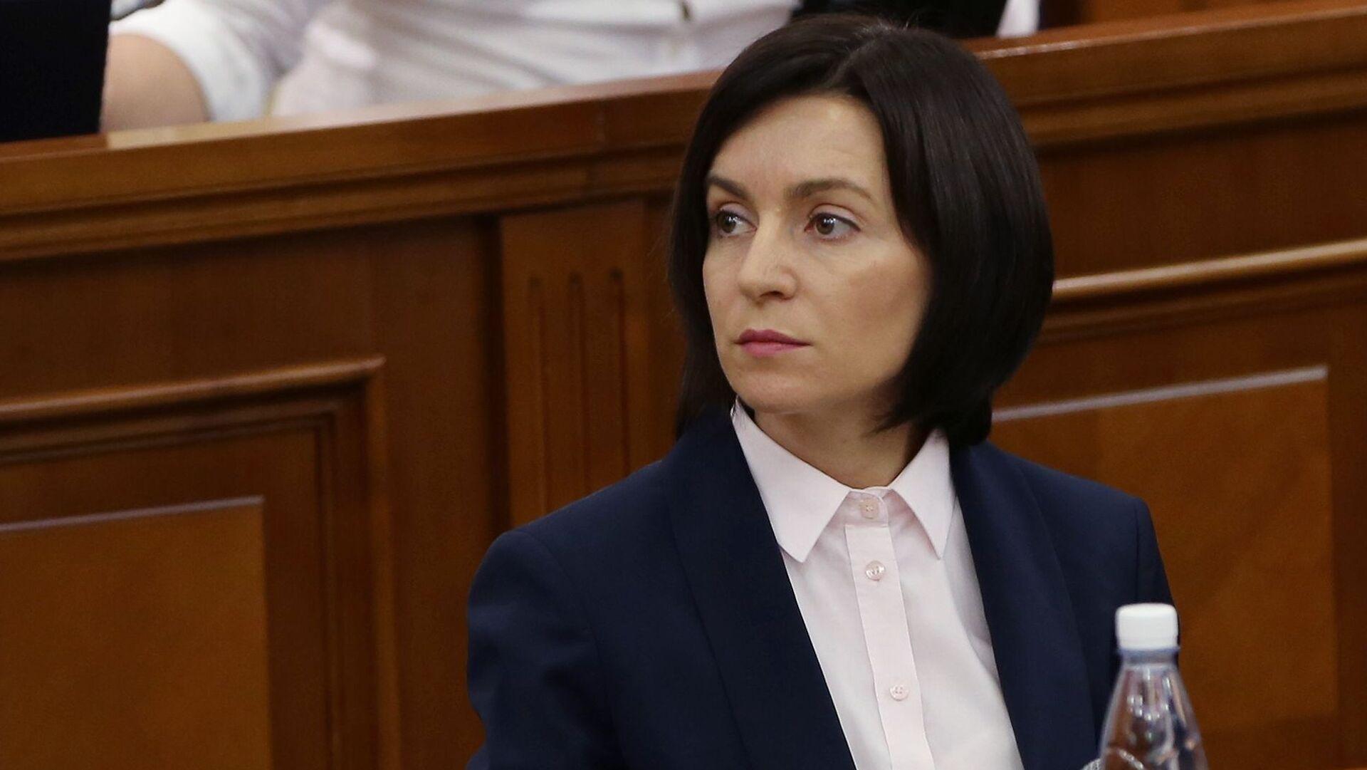 Maia Sandu, presidenta electa de Moldavia - Sputnik Mundo, 1920, 18.03.2021