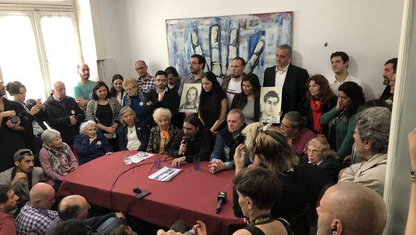 La conferencia de prensa del nieto 130 recuperado, en la sede de Abuelas de Plaza de Mayo - Sputnik Mundo