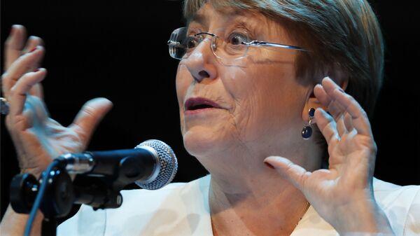 La Alta Comisionada de las Naciones Unidas para los Derechos Humanos, Michelle Bachelet - Sputnik Mundo