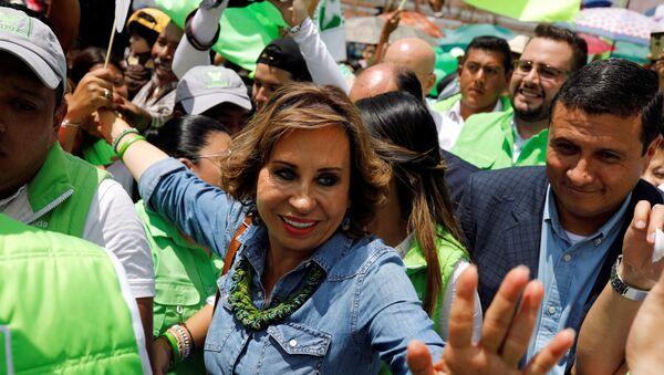 Sandra Torres, candidata presidencial guatemalteca - Sputnik Mundo