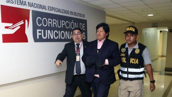 Edwin Oviedo, expresidente expresidente de la Federación Peruana de Fútbol - Sputnik Mundo