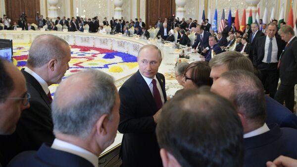 El presidente ruso Vladímir Putin en la Conferencia de Interacción y Medidas de Confianza en Asia - Sputnik Mundo