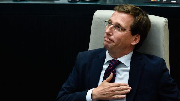 José Luis Martínez-Almeida, nuevo alcalde de Madrid - Sputnik Mundo