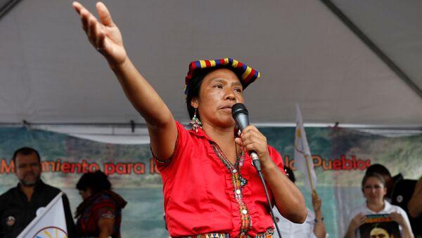 Thelma Cabrera, candidata a la presidencia de Guatemala - Sputnik Mundo